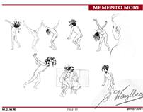 Recherches graphiques MEMENTO MORI