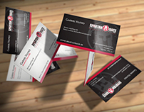 Spartan Race Slovakia - Business Cards