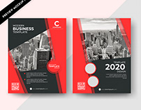 Business Brochure Design in 3 Different Colors