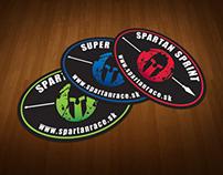 Spartan Race Slovakia - Stickers