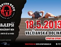 Spartan Race Slovakia - Valčianska Dolina Billboard