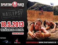 Spartan Race Slovaka - Valčianska Dolina Billboard 2
