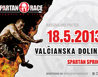 Spartan Race Slovakia - Valčianska Dolina Billboad 3