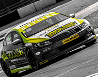 Rockstar Energy DrInk // BTCC race car livery