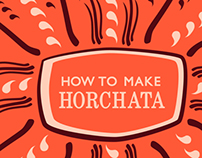 How to make Horchata!
