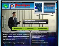 Website - Encuestadora Paradigma - V1