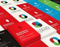LOCUS biuro coworkingowe: logotyp + CI