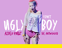 Ugly Boy Font Die Antwoord tribute