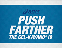 Asics Push Farther Campaign