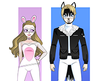 """Superhero Duo Concepts Inspired by """"Miraculous"""" Show"""