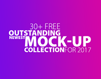 30+ Free Outstanding Newest Mock-Up Collection For 2017