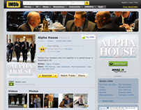 Alpha House Enhanced Title Page for IMDb