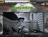Frankenweenie Customized Title Page