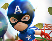 MINI-CAPTAIN AMERICA