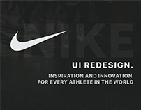 Nike - Redesign Concept.