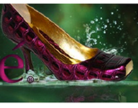 Shoe Websites and Banners