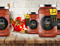 Italian Brand Food Industry Design