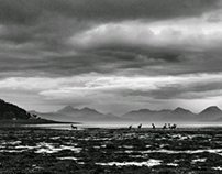 A pictorial view of Scotland in black and white