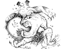 СЕВЕРНЫЙ МОТИВ серия иллюстраций для Green Salvation