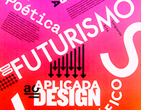 A poética do Futurismo Aplicada ao Design Gráfico