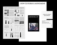 How to form a monument