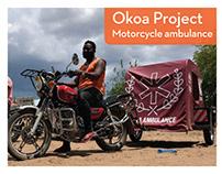 Okoa Project Motorcycle Ambulance
