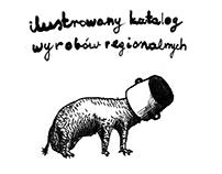 TROPEM ŻARCIA ilustrowany katalog wyrobów regionalnych
