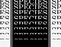 Species Extinction - Poster