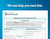 WV Family Health Vision ad