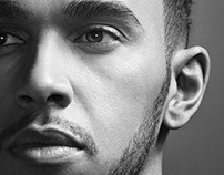 Lewis Hamilton with Cyrill Matter | Retouching