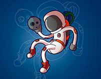 Astronauta - Ilustation