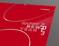 THACO KIA 2013 calendar