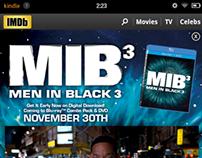 MIB3 Customized Title Page, Kindle Fire, Megatab
