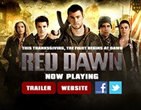 Red Dawn Theatrical Release Campaign for IMDb