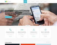 Venture, WordPress Premium Corporate Creative Theme