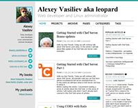 Design of IT blog