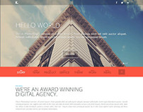 K. Responsive, Wordpress Premium One Page Theme