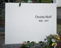 Grabstein von Christa Wolf
