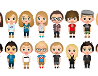 Friends Avatars