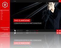 La-Band, WordPress FullScreen Music Band Theme