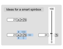 The smart spinbox