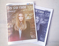 DIS.PA.RATE / collaborative fashion zine.