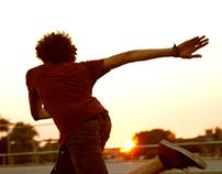Longboard // Sunny lifestyle photography // sun
