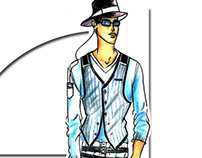Men's wear Illustrations