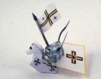Nano Paper Teuton Knight