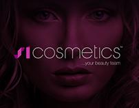 SI Cosmetics - Visuel identitet