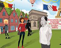 Sobhy in Europe Event - Backdrop - Novartis