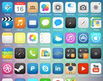 iOS7 Icon Concept