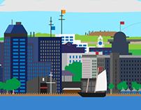 Halifax SUP Background Art