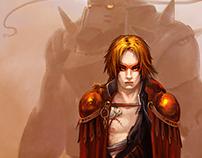 Brom Tribute - Fullmetal Alchemist - Crossed Swords